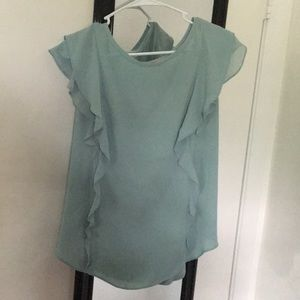 Flowly turquoise shirt!